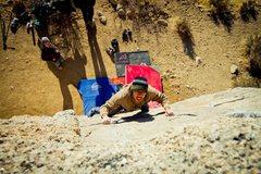 Rock Climbing Photo: Seen here: Dickson Ong Photo Credit: Zack Barbee