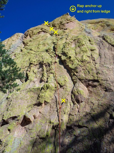 Highly recommended mystery summit pitch on the Muttonhead. Probably 5.10a? 4 bolts and gear to #1 camalot. Be sure to continue all the way to the true summit for expansive views.