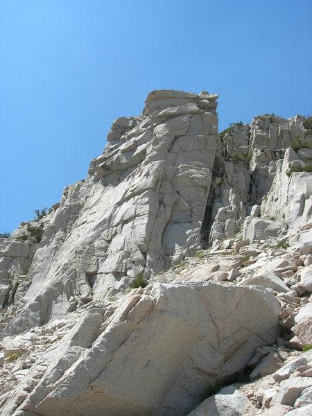Rock Climbing Photo: A crag.