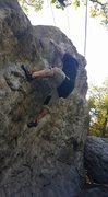 Rock Climbing Photo: Secret garden