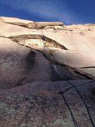 Rock Climbing Photo: Hot Lava