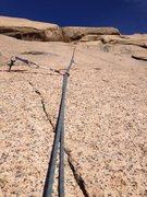 Rock Climbing Photo: Pro on Hot Lava