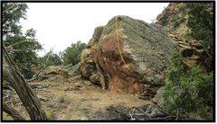 Rock Climbing Photo: Pasale Compa's problem beta.