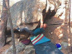Rock Climbing Photo: The goat