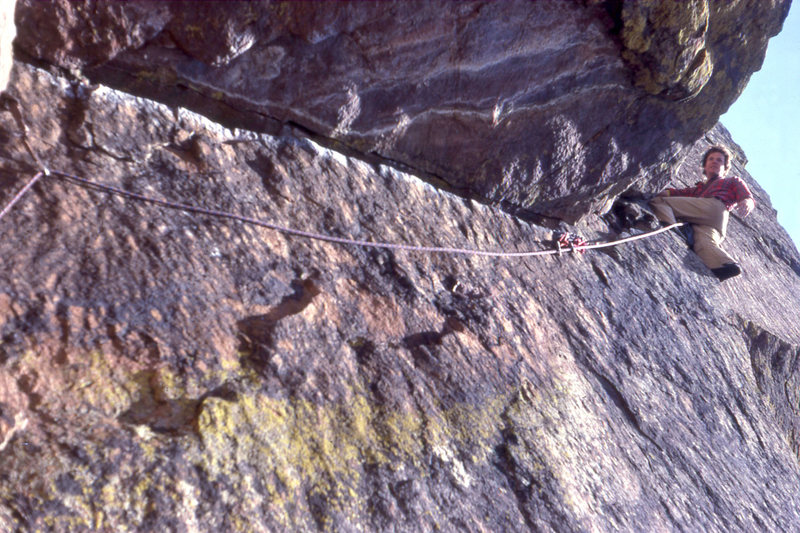 Tom Cosgriff on the 5th pitch around 1977.