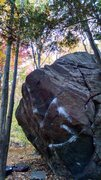 Rock Climbing Photo: The Barn Door Boulder is one large, nice piece of ...