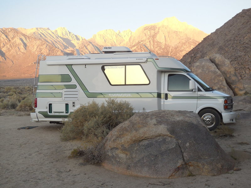 Can't say enough about the advantages of a dirtbag having a solid camper/RV.