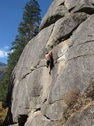 Rock Climbing Photo: watch out for the bee crux