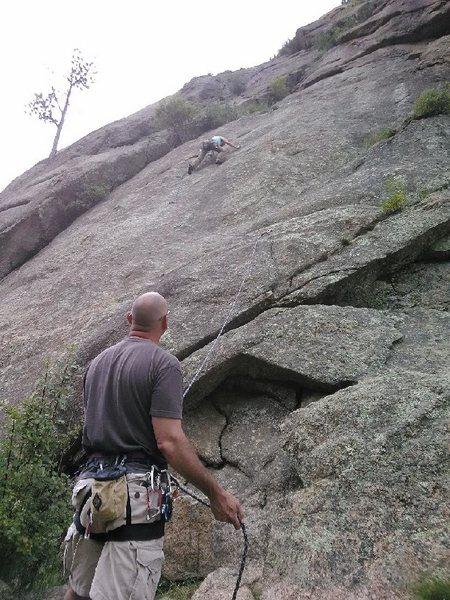 Rock Climbing Photo: Waterslide