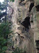 Rock Climbing Photo: more left side pics