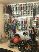 Rock Climbing Photo: Gear closest... can never have too much gear.