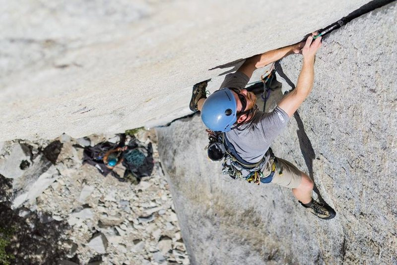 La Cosita, Right, 5.9. For the record, i'm not pulling through on gear! Merely, making sure of my placement!