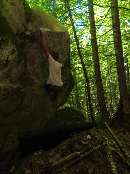 Rock Climbing Photo: Michal R. on Prime by 29.
