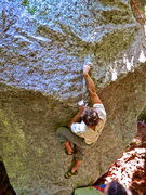 Rock Climbing Photo: Michal R on Holy Mackerel