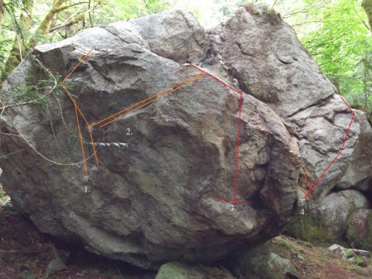 Rock Climbing Photo: 1. Precipitation 2. Blizzard 3. Frostbite 4. Heral...