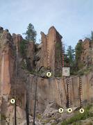Rock Climbing Photo: #1 - Handyman #2 - Isengard #3 - New Mexico Welcom...