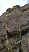 Rock Climbing Photo: Bloody Impaction