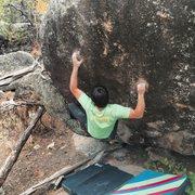 Rock Climbing Photo: Michael Madsen on Ante-Up