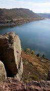 Rock Climbing Photo: Top of Duncan's Ridge