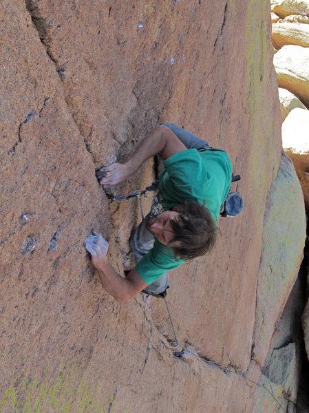 Rock Climbing Photo: corrected photo
