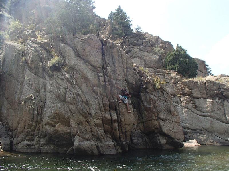 Rock Climbing Photo: Rock Chalk, Jayhawk!