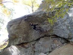 Rock Climbing Photo: Wimp And Peel, N.W. Territories, Rumney