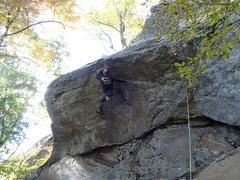 Rock Climbing Photo: Wimp And Peel, N.W. Territories Rumney, NH