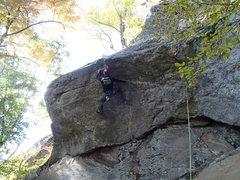 Rock Climbing Photo: Wimp And Peel, N.W. Territories Rumney, NH