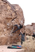 Rock Climbing Photo: Trying work up Serengeti
