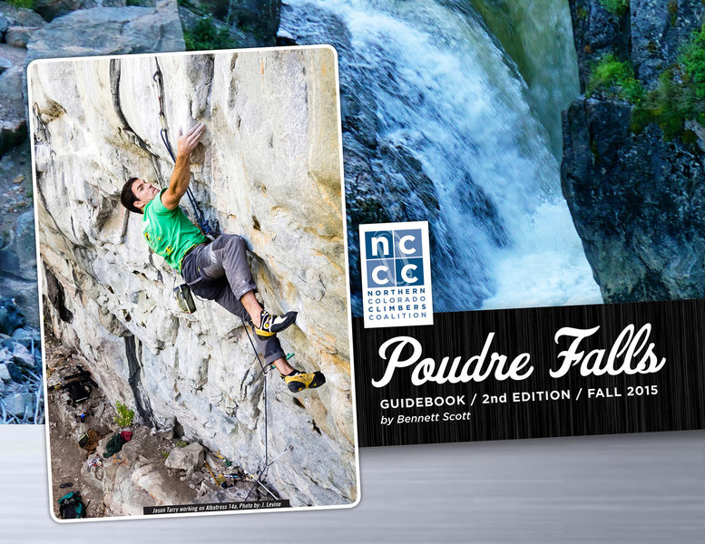 Rock Climbing Photo: Poudre Falls, 2nd Edition Cover.