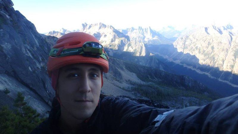 Rock Climbing Photo: selfie!