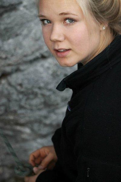 Rock Climbing Photo: First lead belay