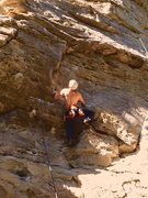 Rock Climbing Photo: Workin' for the Weekend (10c)