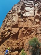 Mystery Sport Route in Church Spires Area
