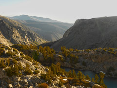 Rock Climbing Photo: Early morning looking down on Finger Lake.