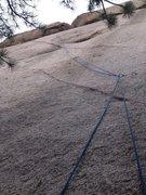 Rock Climbing Photo: Missing the Dike
