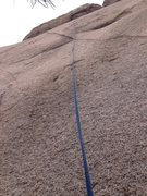 Rock Climbing Photo: Higher on Missing the Dike