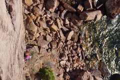 Rock Climbing Photo: delightful edges make for some fun climbing above ...