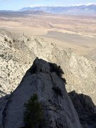 Rock Climbing Photo: Looking down on the upper ridgeline of the DNR
