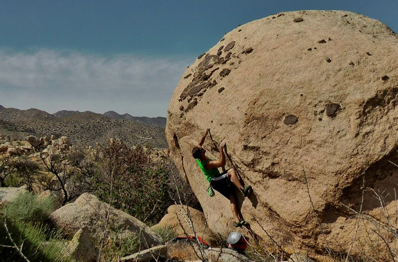 Great holds are just one hard pull away. South Cottonwood.