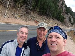 Rock Climbing Photo: Veteran highway men, Don, Tim, & Scott refusing CD...