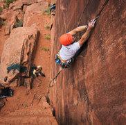 Rock Climbing Photo: Mustang Man