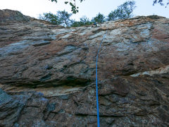 Rock Climbing Photo: BTM on MB