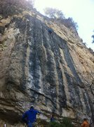 Rock Climbing Photo: Coin up in the business, Totally Recalled 13a