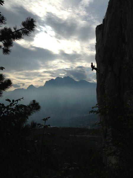 Rock Climbing Photo: arco