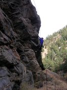 Rock Climbing Photo: Pay attention to what you pull on and what you sta...