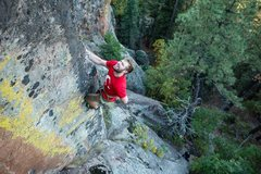 Rock Climbing Photo: The Green Arete