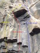 Rock Climbing Photo: Mowgli routes!
