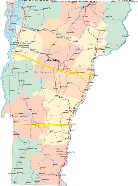 Vermont Areas