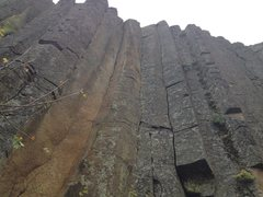 Rock Climbing Photo: a few of the middle columns